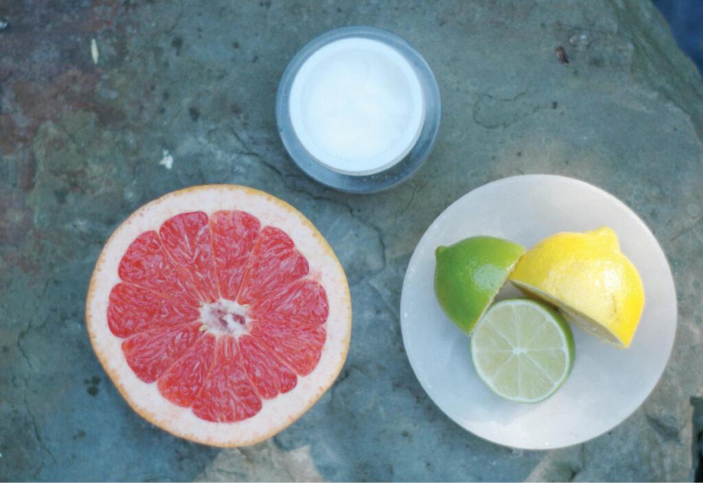 Blick auf den Speiseplan bei Hautkrankheiten